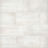 Chateau 12x24 porcelain floor tile in Canvas
