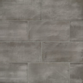 Chateau 12x24 porcelain floor tile in Smoke