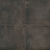 Chateau 24x24 porcelain floor tile in Tobacco