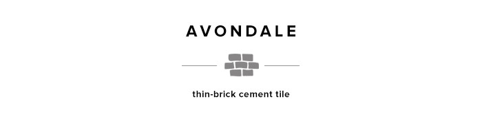 Avondale thin-brick 2x8 tile