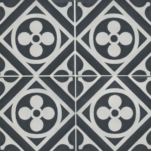 Chateau 12 X 12 Decorative Tile In Canvas Ocean Bedrosians Tile Stone