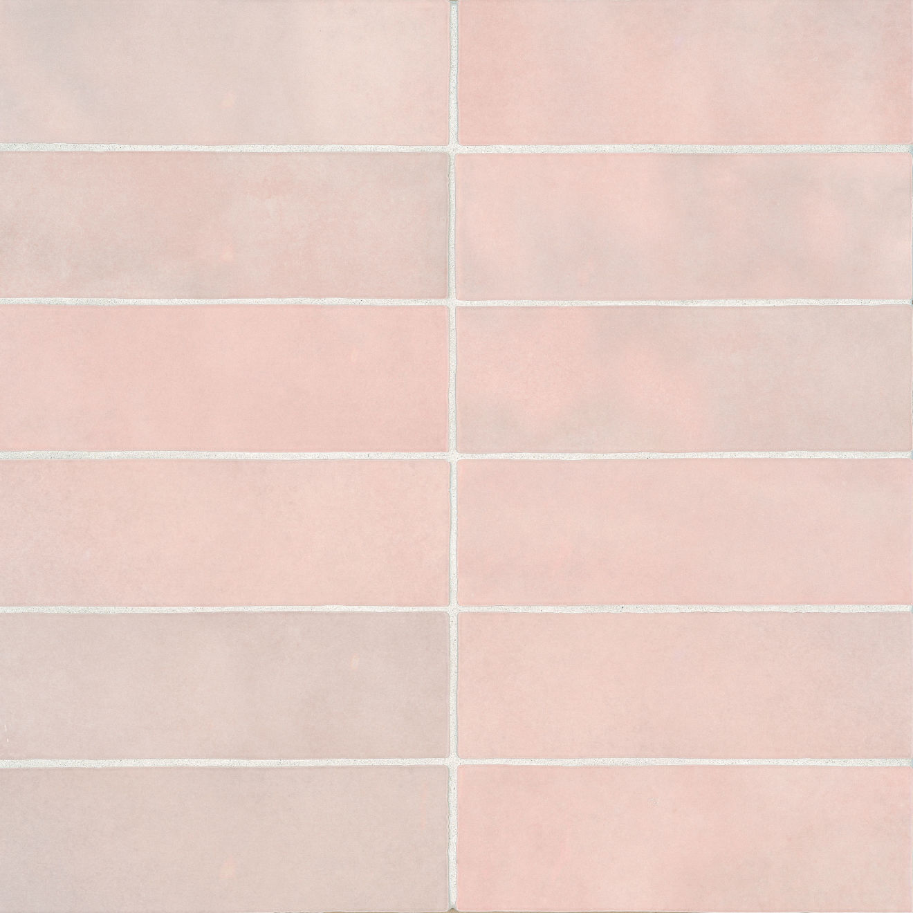 Cloe 2 5 Quot X 8 Quot Wall Tile In Pink Bedrosians Tile Amp Stone