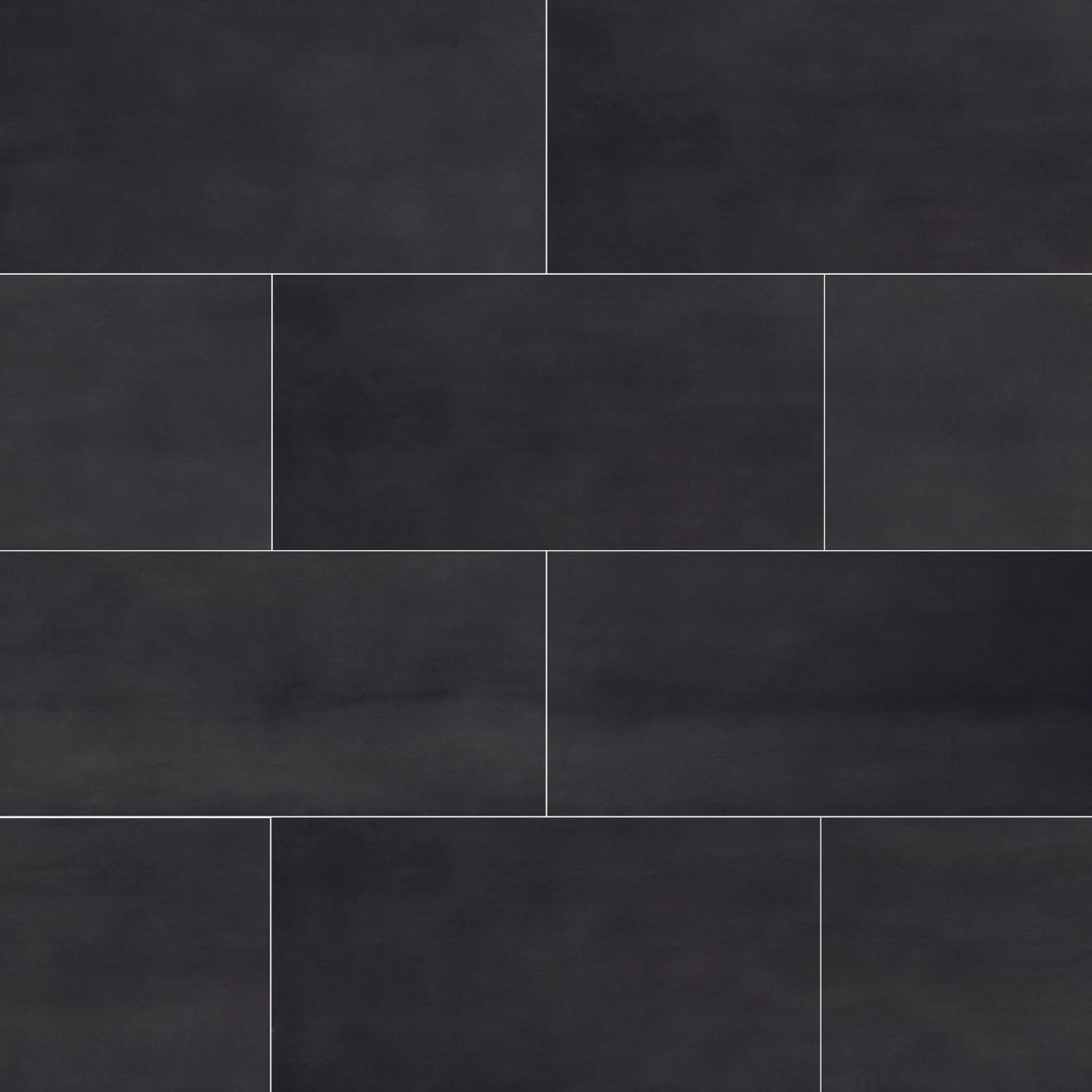 Plane 15 X 30 Floor Wall Tile In Black Bedrosians Tile Stone