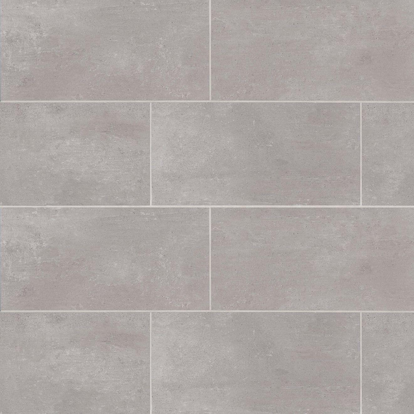 Simply Modern 12 X 24 Floor Wall Tile In Grey Bedrosians Tile Stone