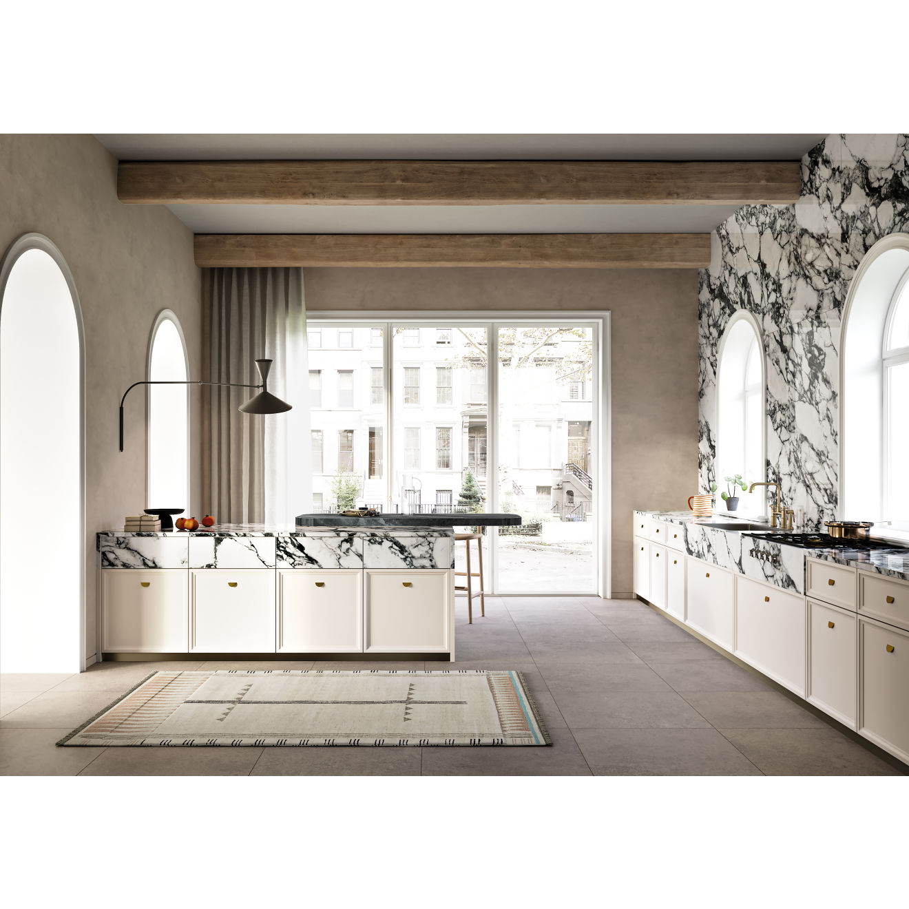 Magnifica 30 X 30 Floor Wall Tile In Cementi Bedrosians Tile Stone