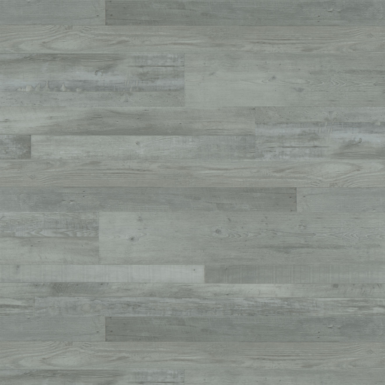 "Madera 7""x48"" Luxury SPC Vinyl Flooring in Grey Oak"