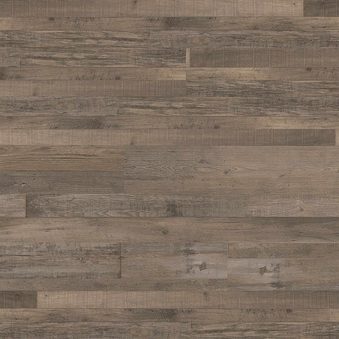 "Madera 7""x48"" Luxury SPC Vinyl Flooring in Brown Oak"