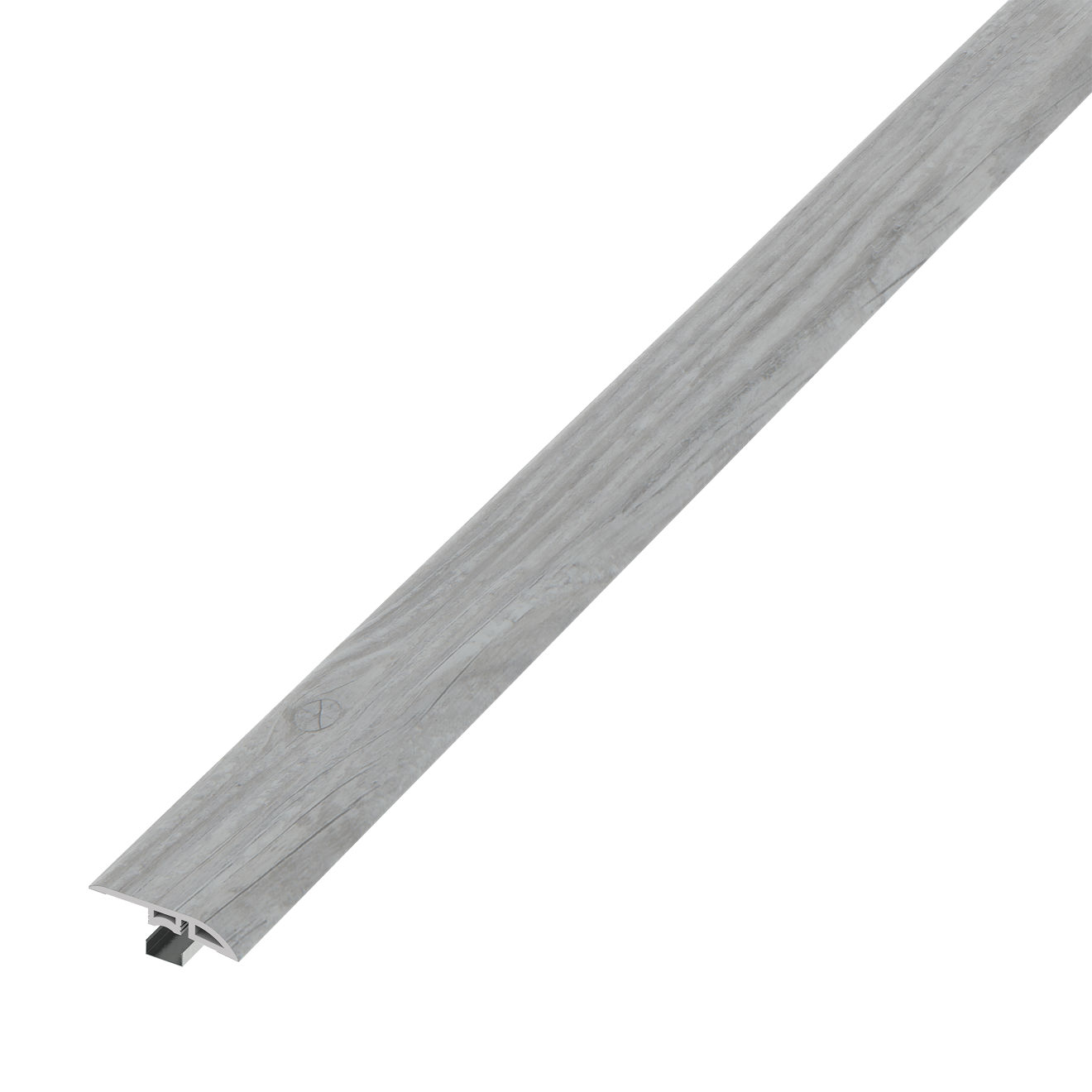 Madera Luxury SPC Vinyl Reducer Molding Trim in Grey Oak