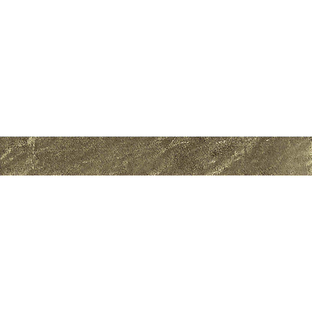 """Elecdrix 1.5"""" x 8"""" Wall Tile in Gold as Love"""