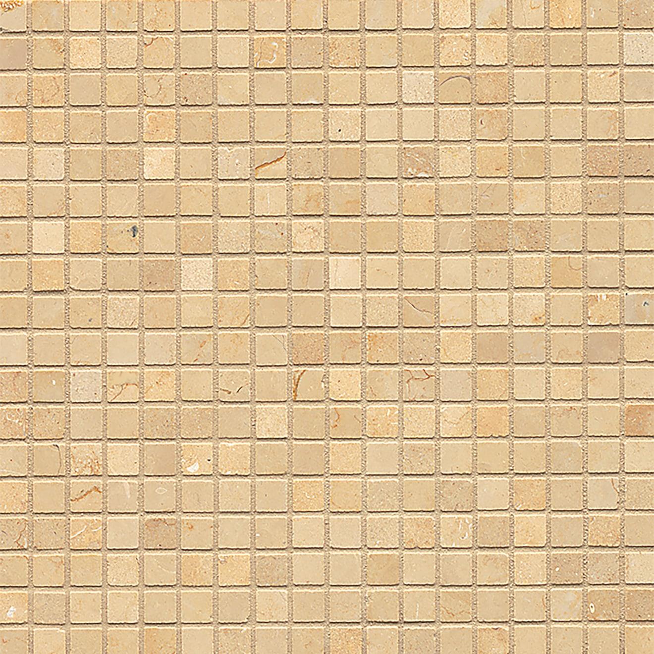 5/8X5/8 Mod Rocks Mosaic-Brioche