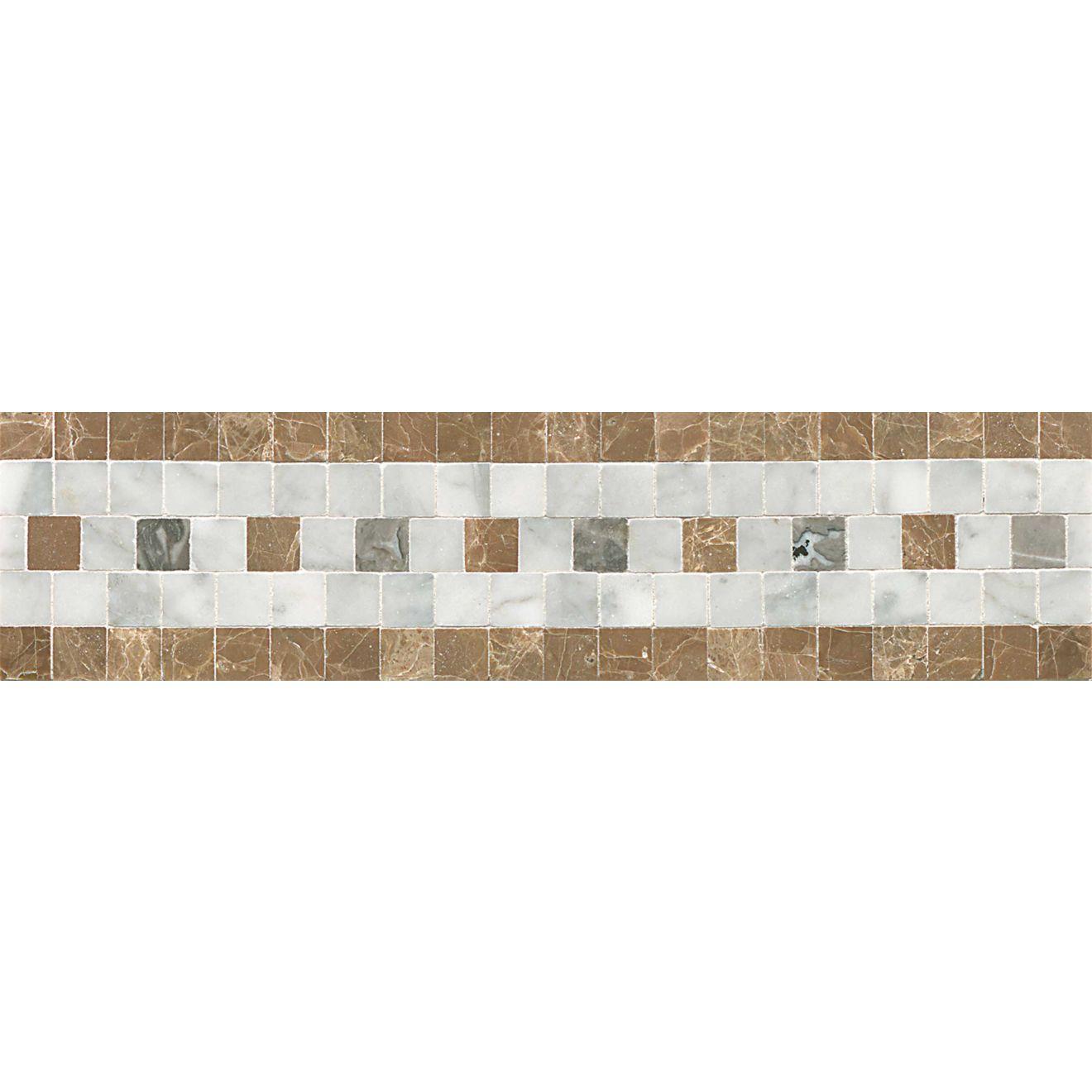 3X12 Liner Deja Vu-Carre/Viburn/Gri