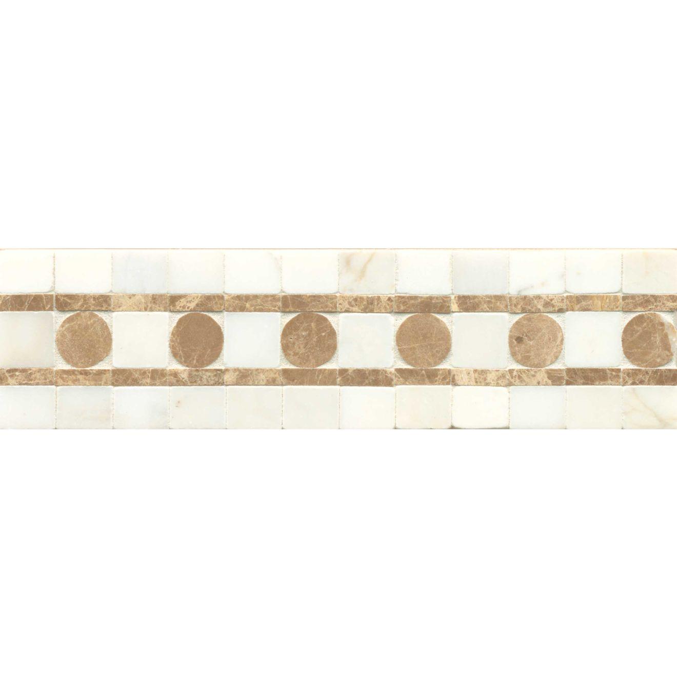 3X12 Liner Sqre Peg-Calacat/Viburnum