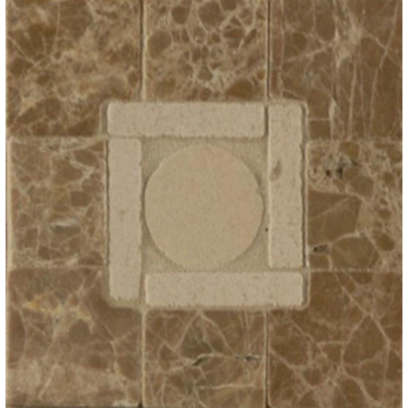 3X3 Square Peg Cnr Moca / Viburnum