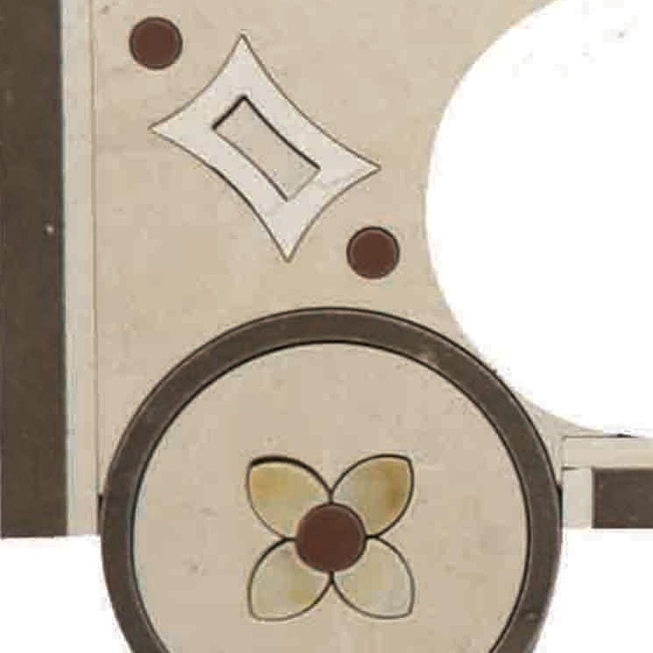 """Suave 4"""" x 4"""" Decorative Tile in Calacatta, Fleece, Giallo, Mink"""