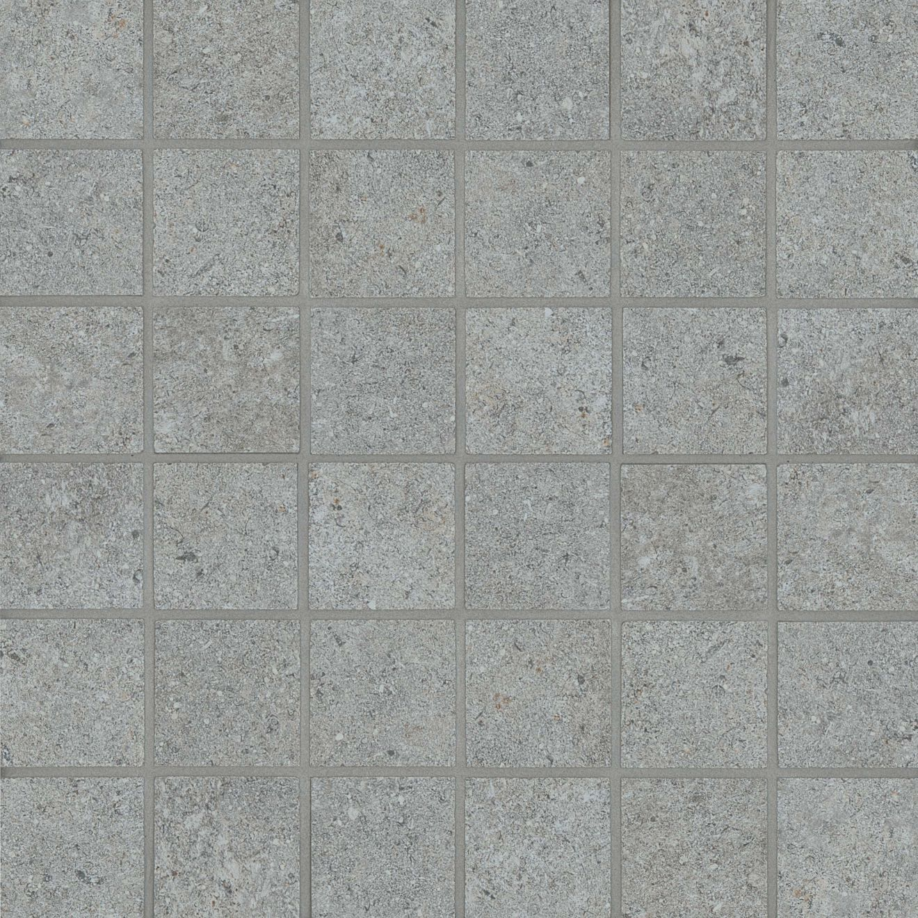 """Stone Valley 2"""" x 2"""" Floor & Wall Mosaic in Cenere"""