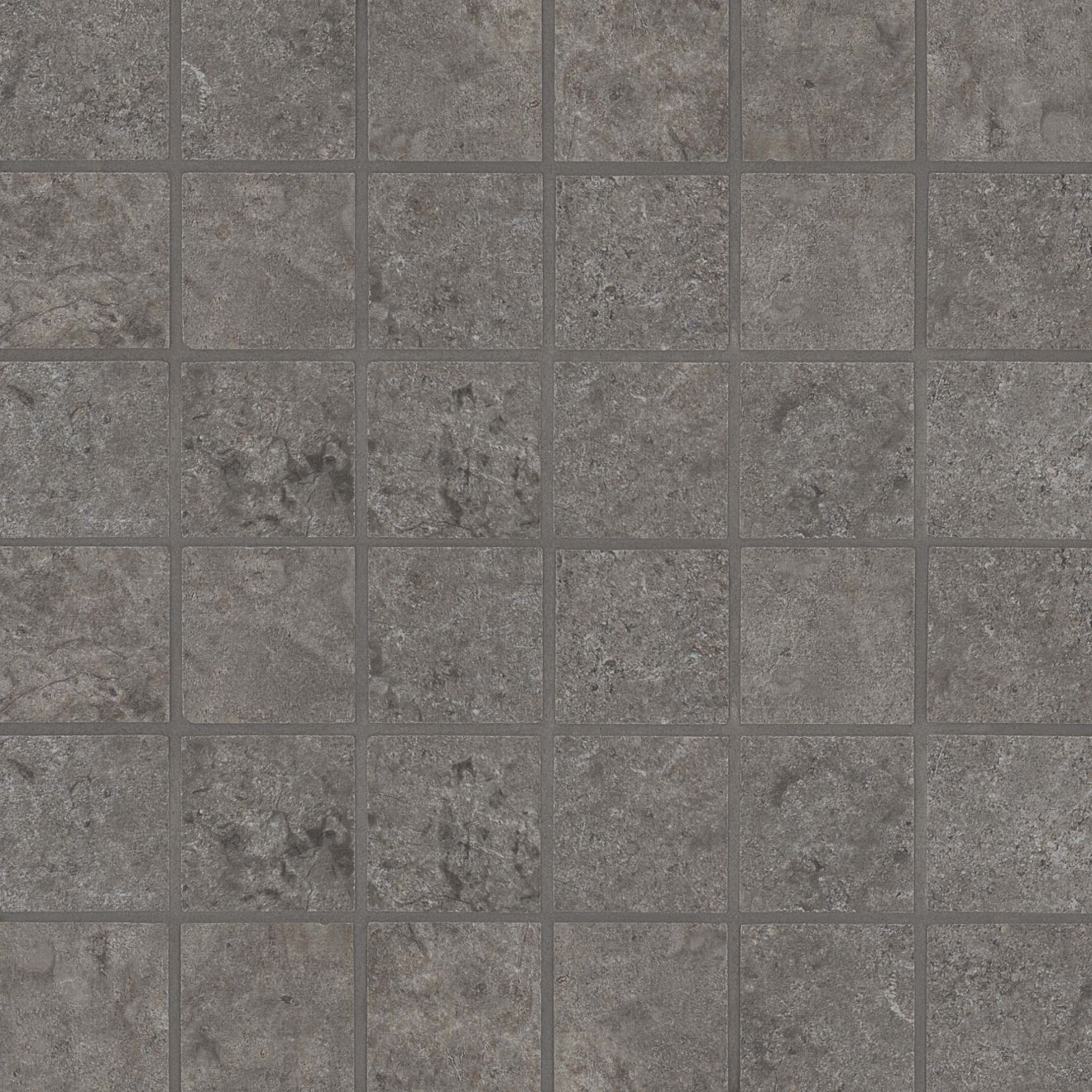 "Stone Valley 2"" x 2"" Floor & Wall Mosaic in Terra"