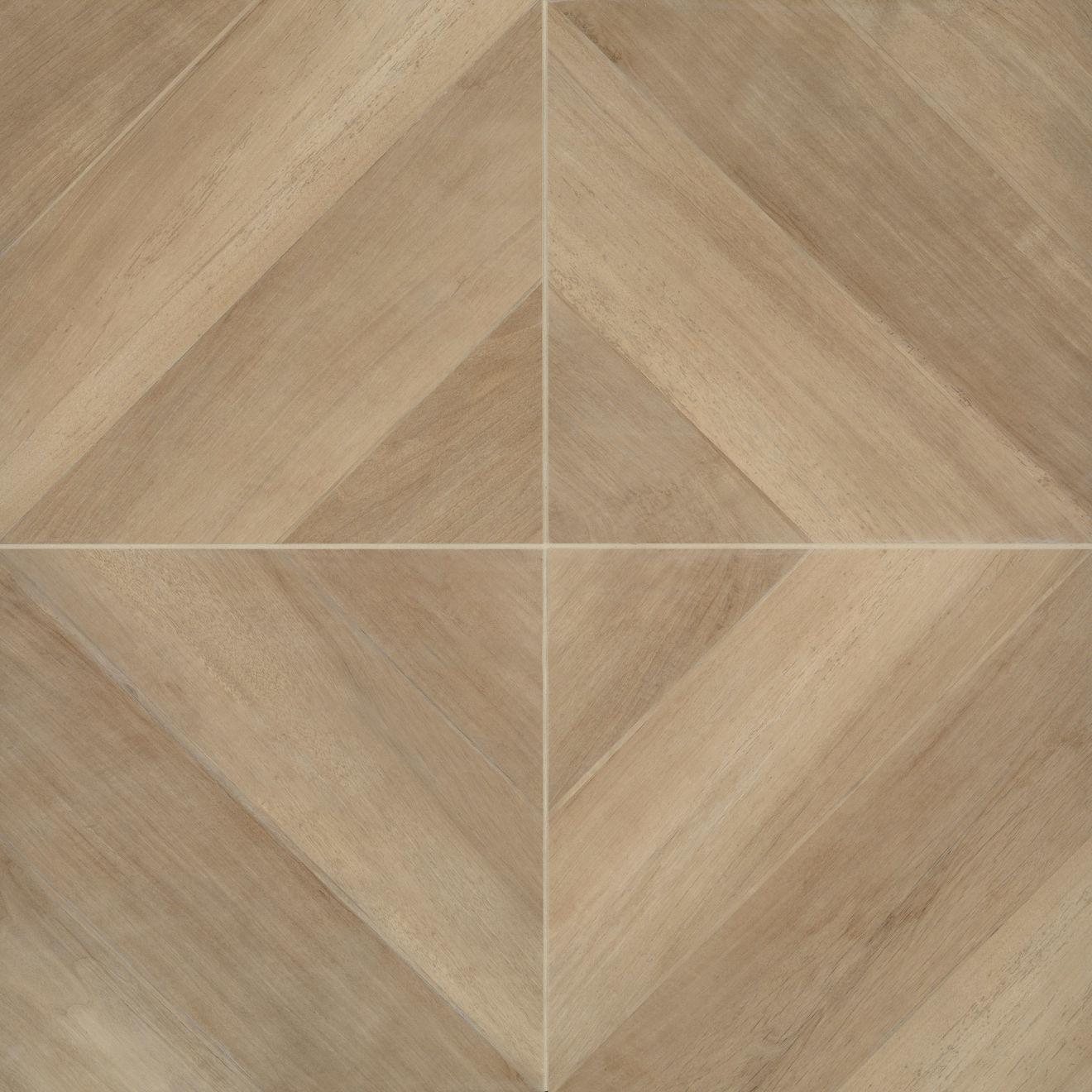 "Antique 24"" x 24"" Floor & Wall Tile in Clay"