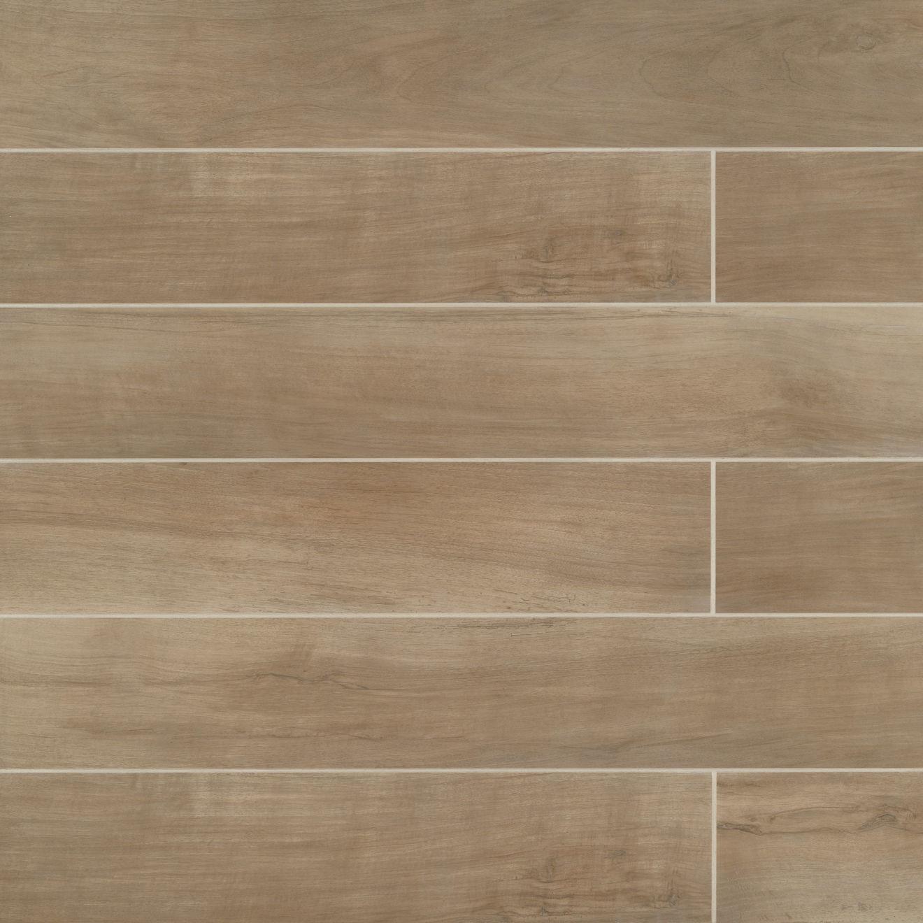 "Antique 8"" x 48"" Floor & Wall Tile in Clay"