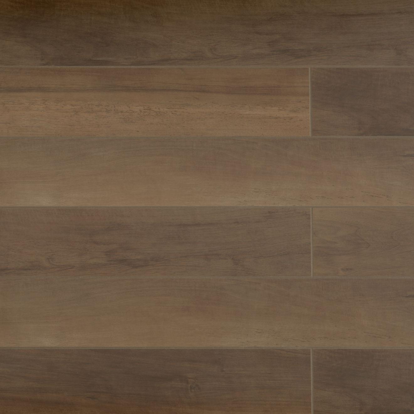 """Antique 8"""" x 48"""" Floor & Wall Tile in Walnut"""