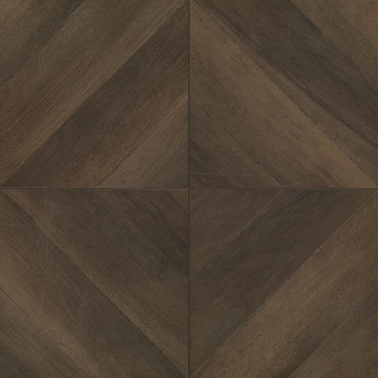 """Antique 24"""" x 24"""" Floor & Wall Tile in Wenge"""