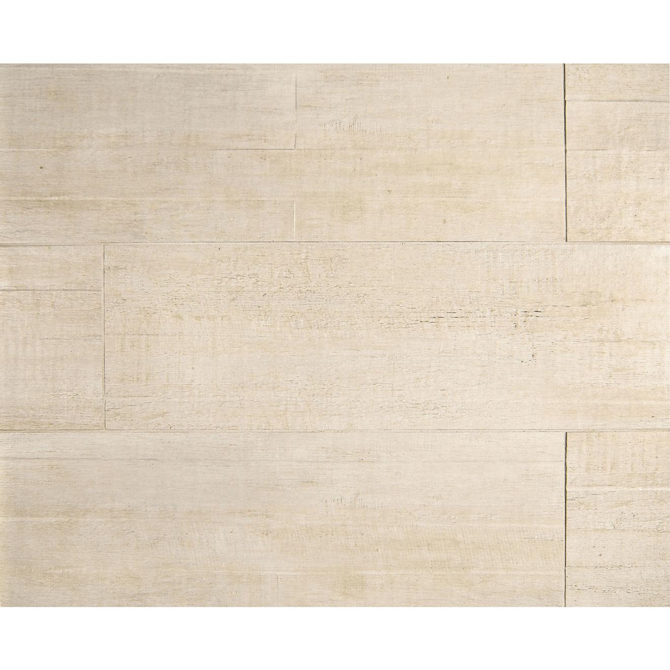 "Barrique 8"" x 24"" Floor & Wall Tile in Blanc"