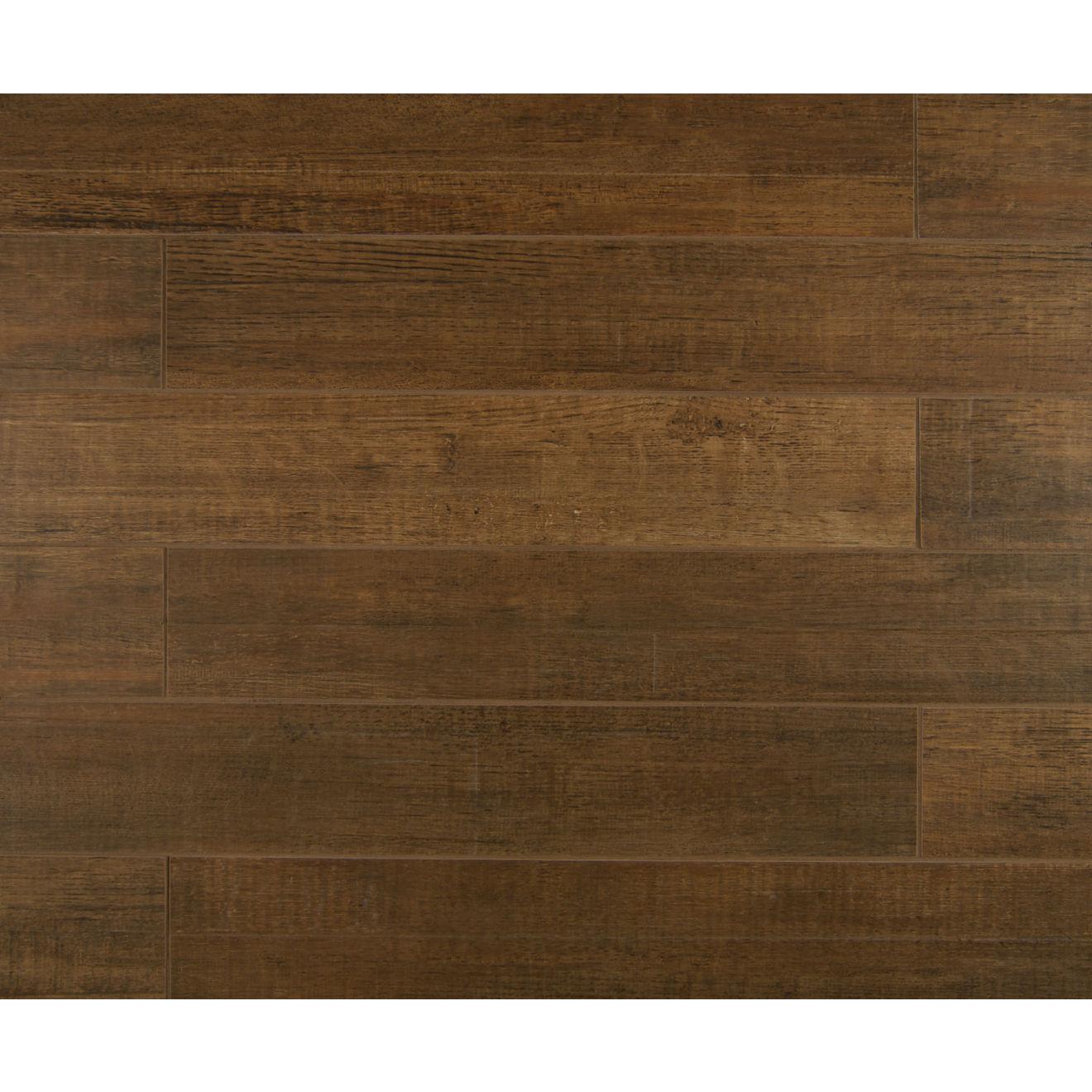 """Barrique 4"""" x 24"""" Floor & Wall Tile in Brun"""