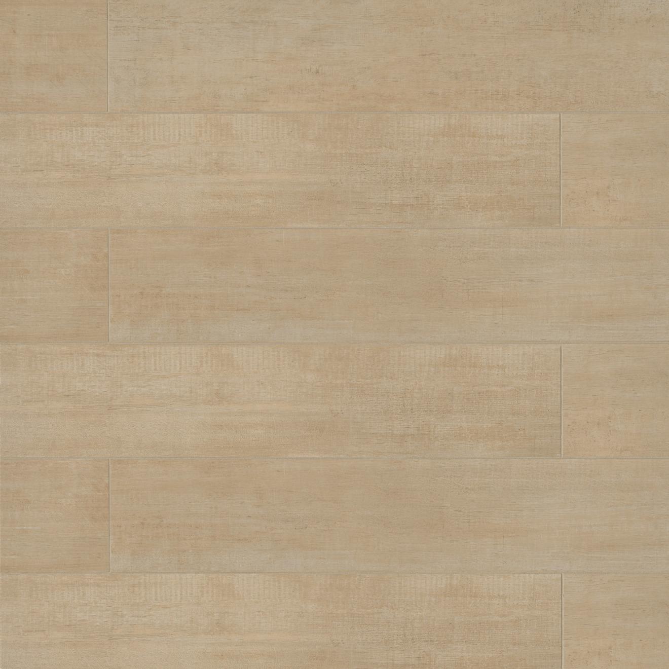 """Barrique 8"""" x 40"""" Floor & Wall Tile in Ecru"""