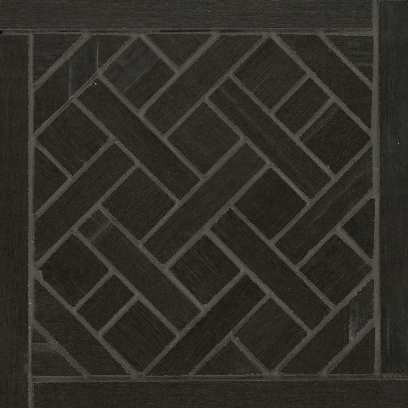 Barrique Floor & Wall Mosaic in Noir