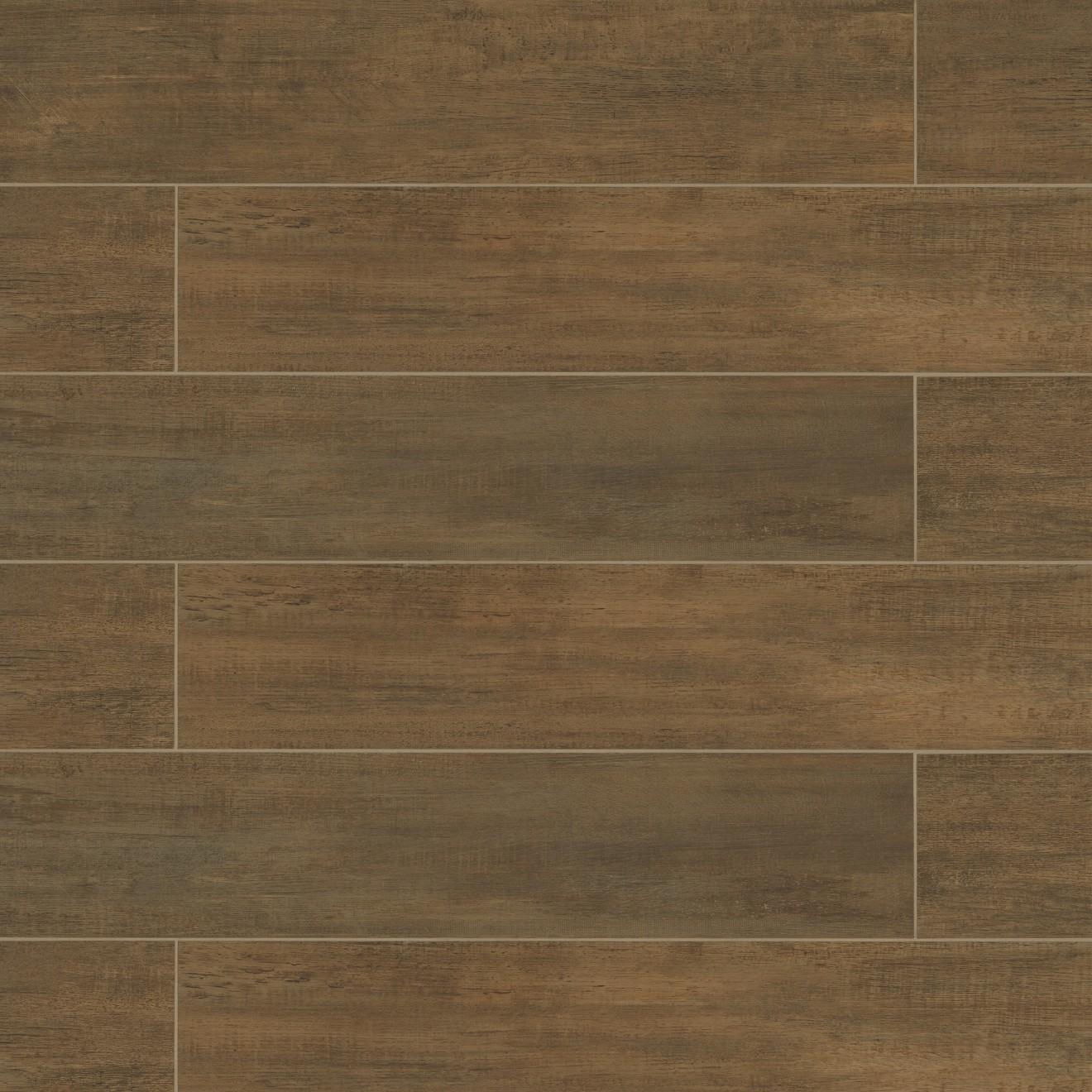 """Barrique 8"""" x 40"""" Floor & Wall Tile in Vert"""