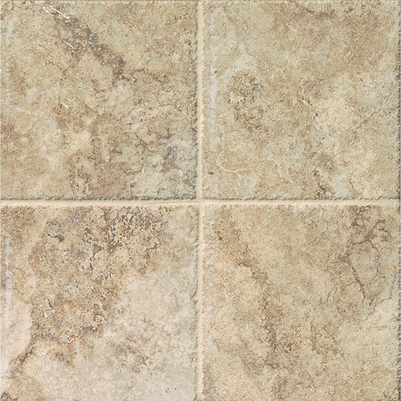 "Forge 6.5"" x 6.5"" Floor & Wall Tile in Beige"