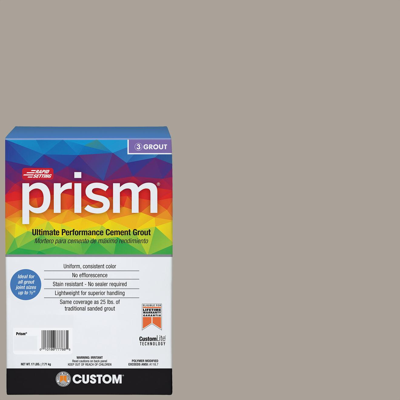 Custom Prism #543 Driftwood 17lb. Sanded Grout