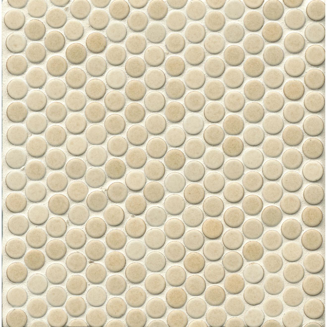 "360 3/4"" x 3/4"" Floor & Wall Mosaic in Beige"