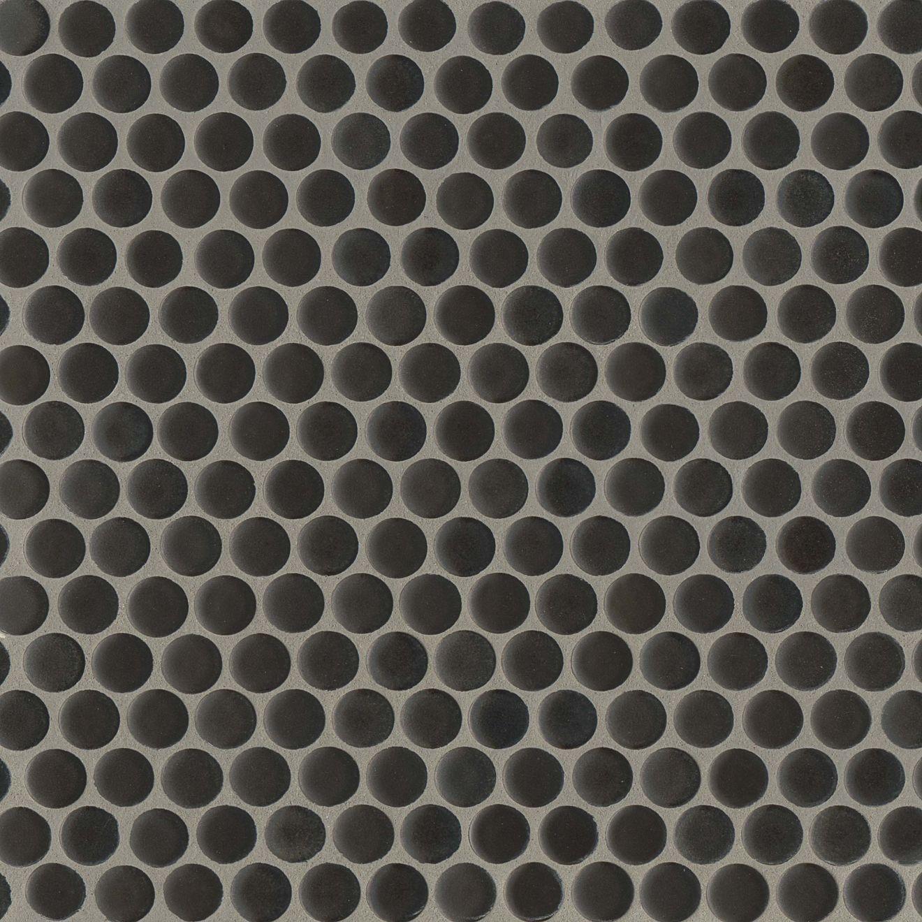 "360 3/4"" x 3/4"" Floor & Wall Mosaic in Charcoal"