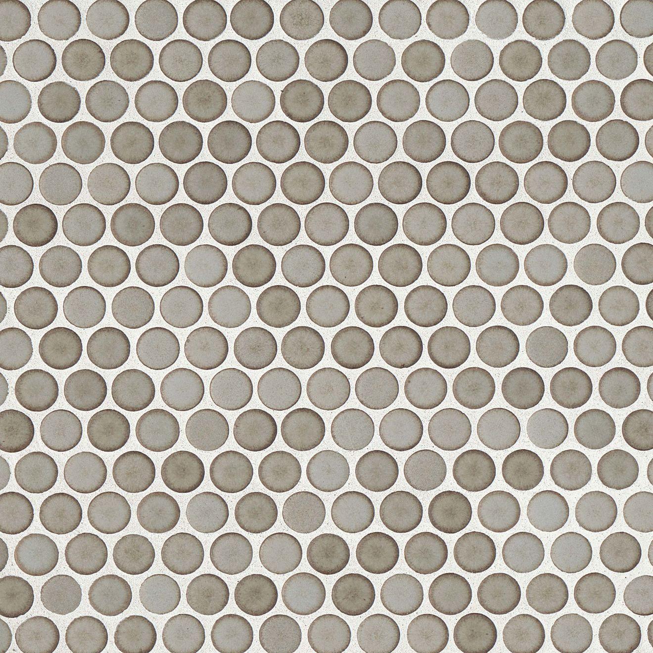 "360 3/4"" x 3/4"" Floor & Wall Mosaic in Pumice"
