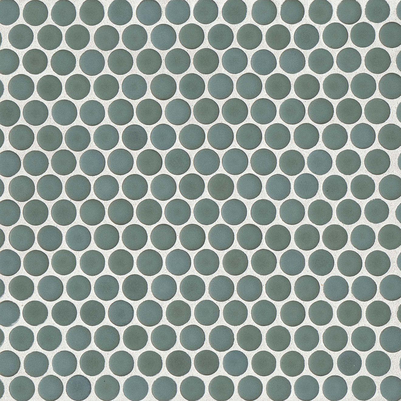 "360 3/4"" x 3/4"" Floor & Wall Mosaic in Silver Sage"