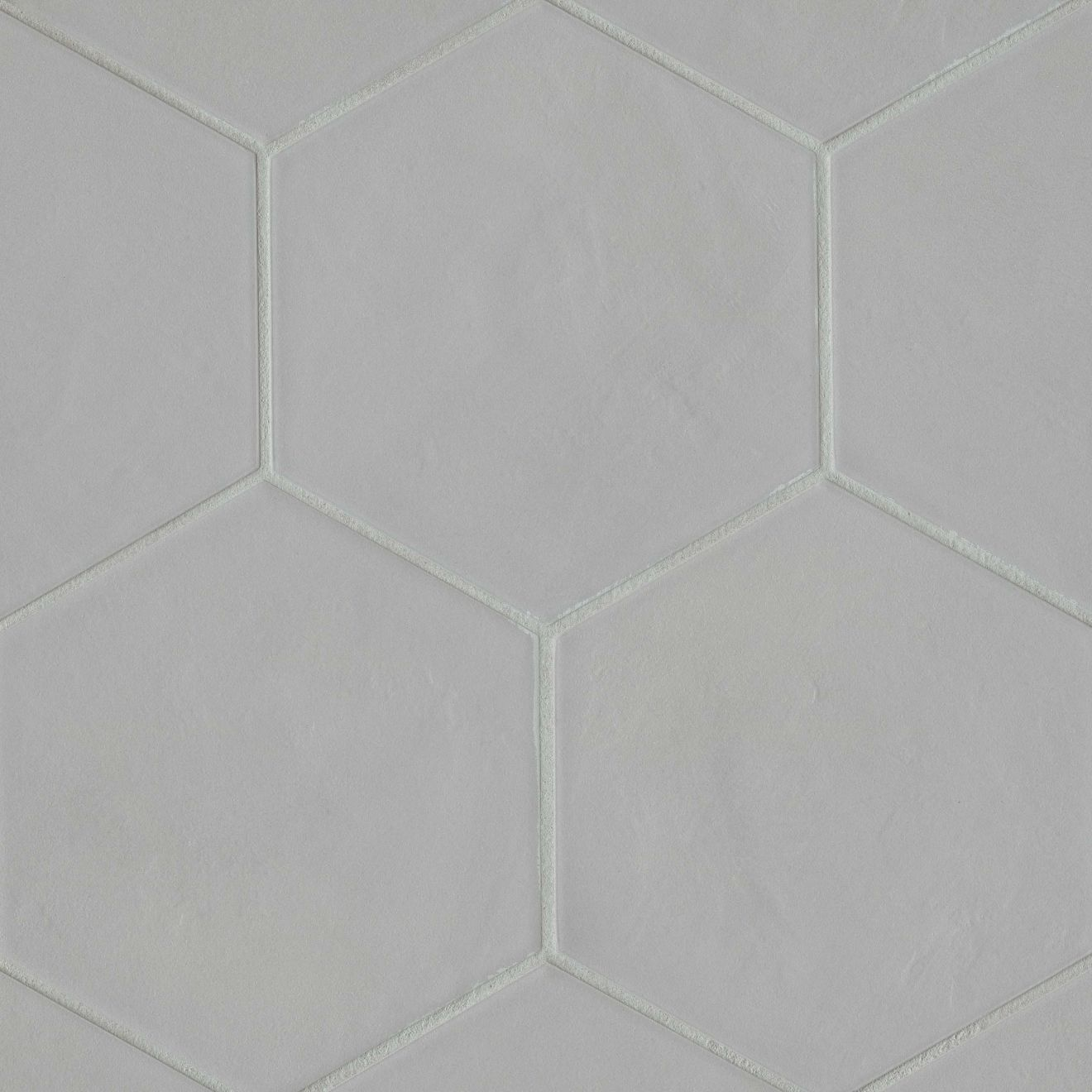 "Allora 8.5"" x 10"" Floor & Wall Tile in Solid Grey"