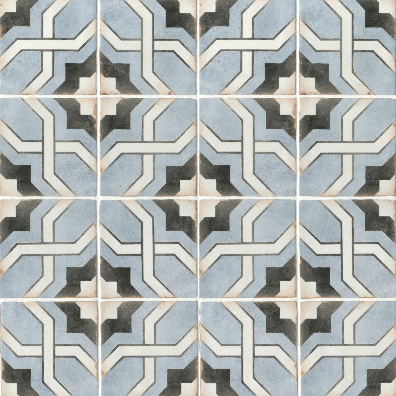 """Casablanca 5"""" x 5"""" Matte Ceramic Floor and Wall Tile in Attia"""