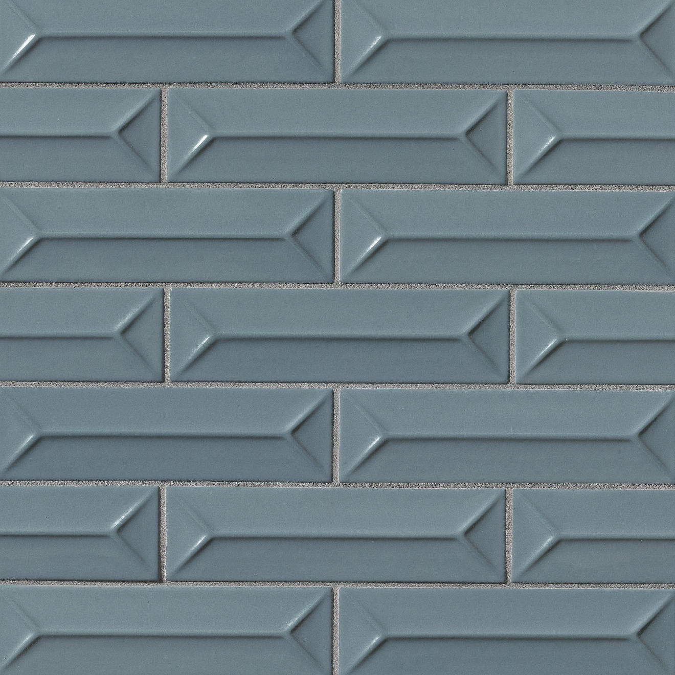 "Costa Allegra 2.5"" x 9"" Decorative Tile in Adriatic"