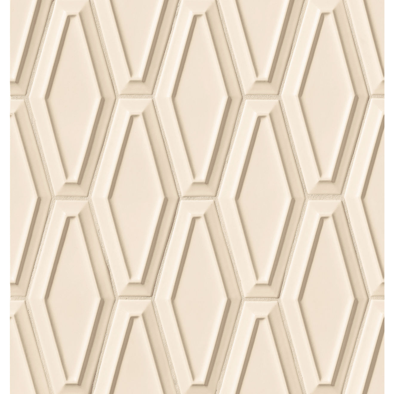"Costa Allegra 4"" x 9"" Decorative Tile in Alabaster"