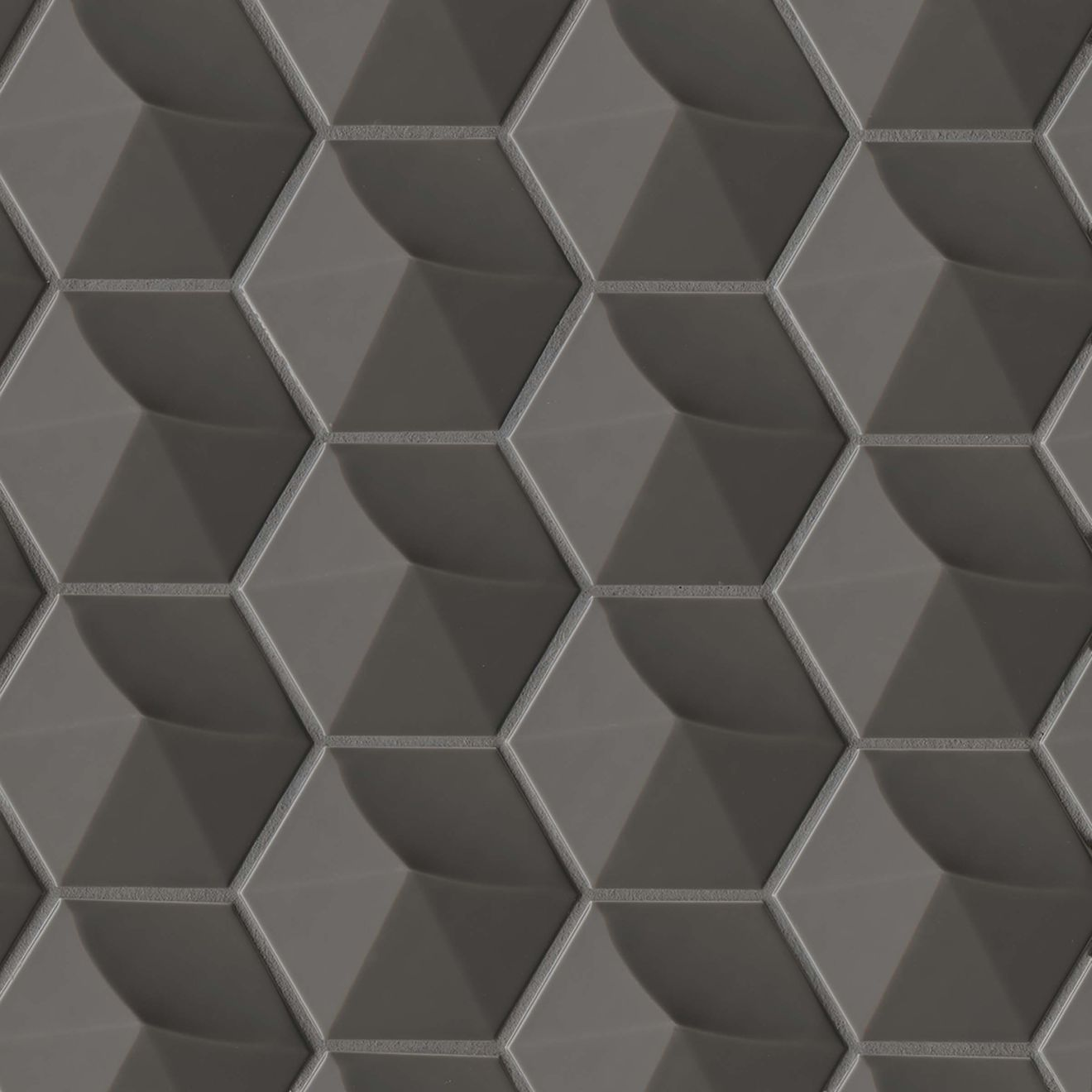 """Hedron 4"""" x 5"""" Wall Tile in Storm"""