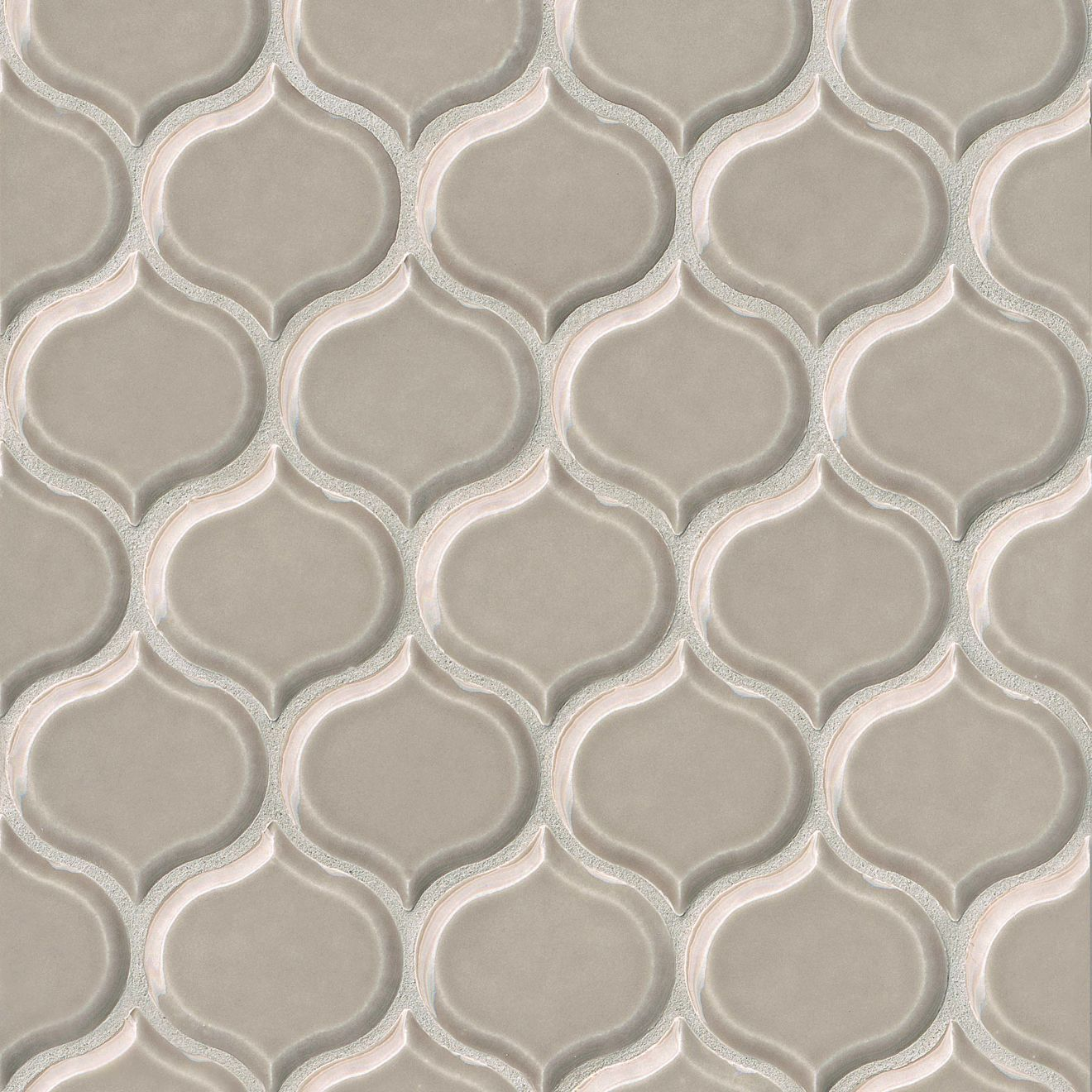 """Provincetown 3-1/16"""" x 2-7/8"""" Wall Mosaic in Dune Beige"""