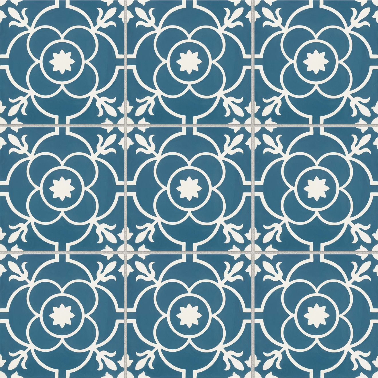 """Remy 8"""" x 8"""" Floor & Wall Tile in Brigette"""