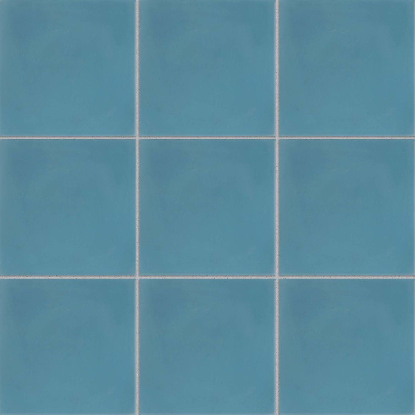 """Remy 8"""" x 8"""" Floor & Wall Tile in Cobalt"""