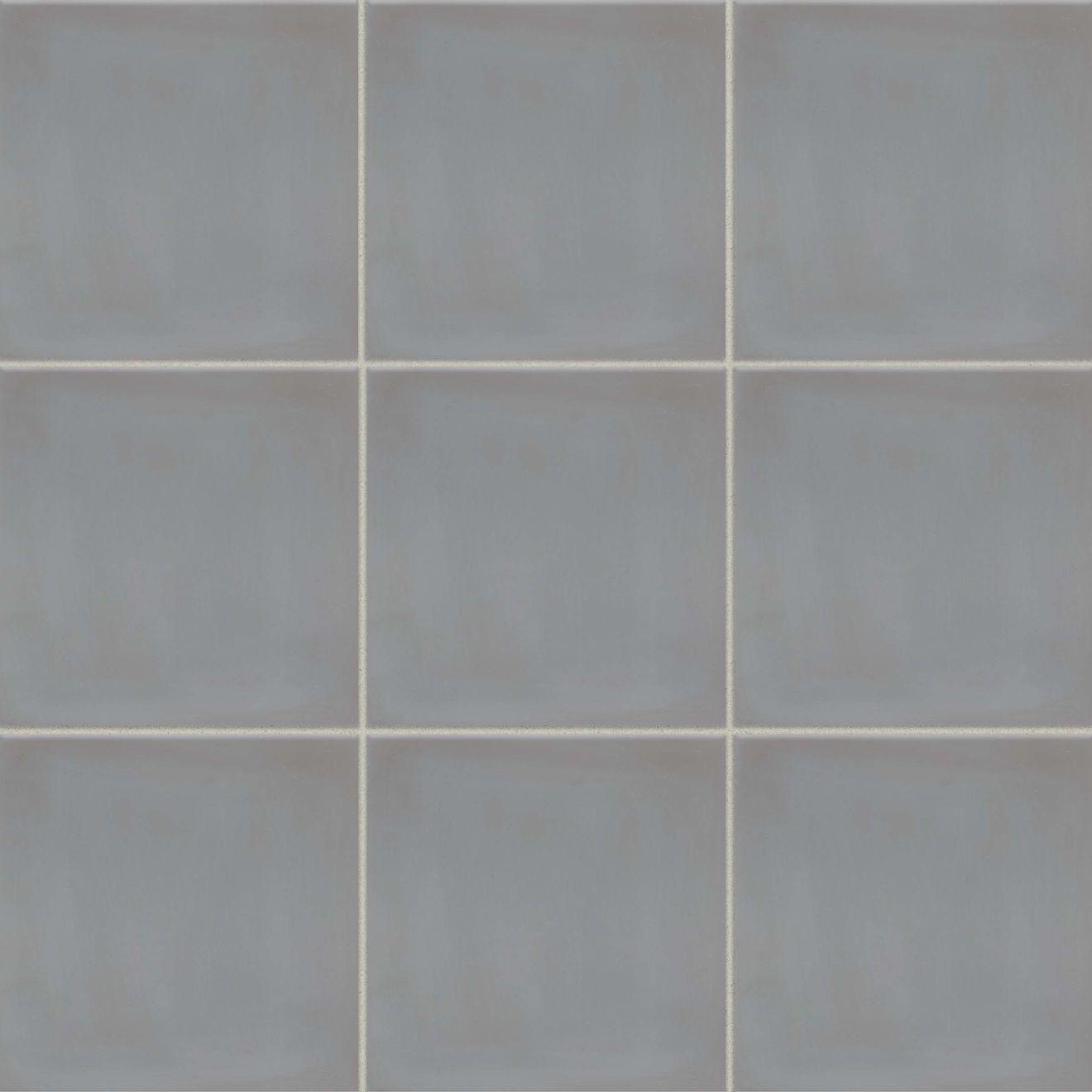 "Remy 8"" x 8"" Floor & Wall Tile in Fog"