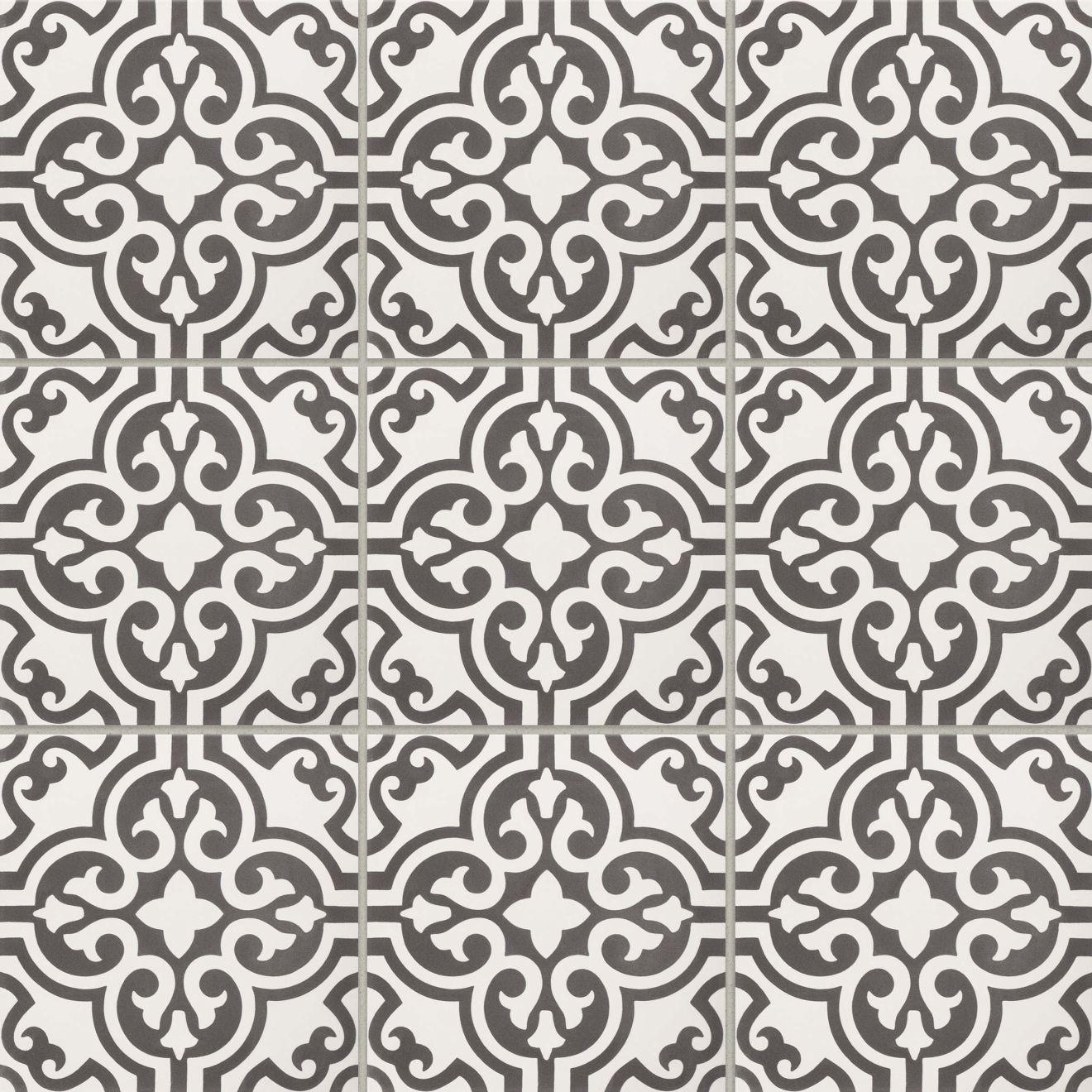 "Remy 8"" x 8"" Floor & Wall Tile in Nouveaux"