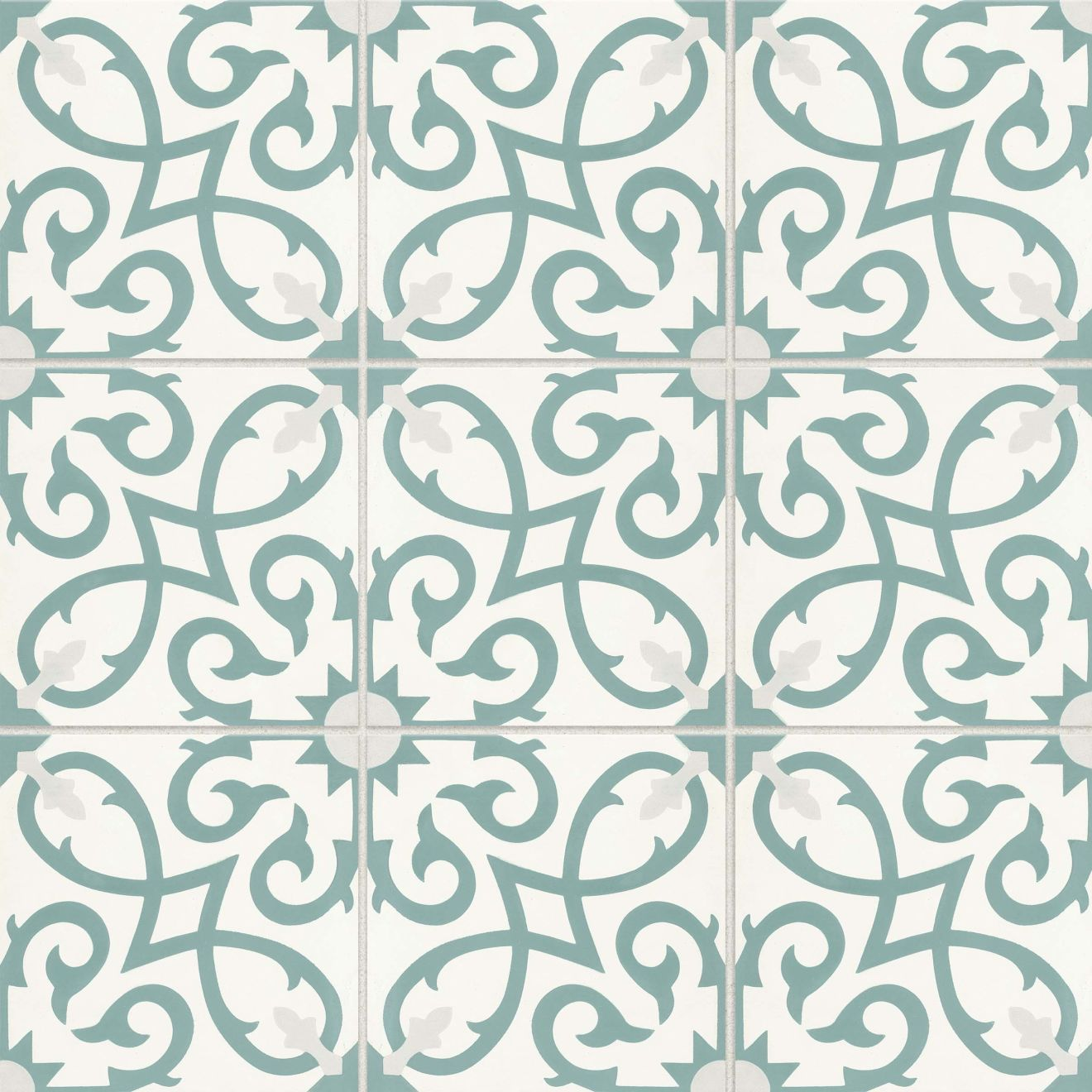 """Remy 8"""" x 8"""" Floor & Wall Tile in Oasis"""