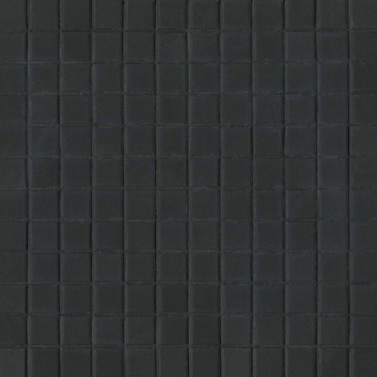 "True 1"" x 1"" Floor & Wall Mosaic in Black"