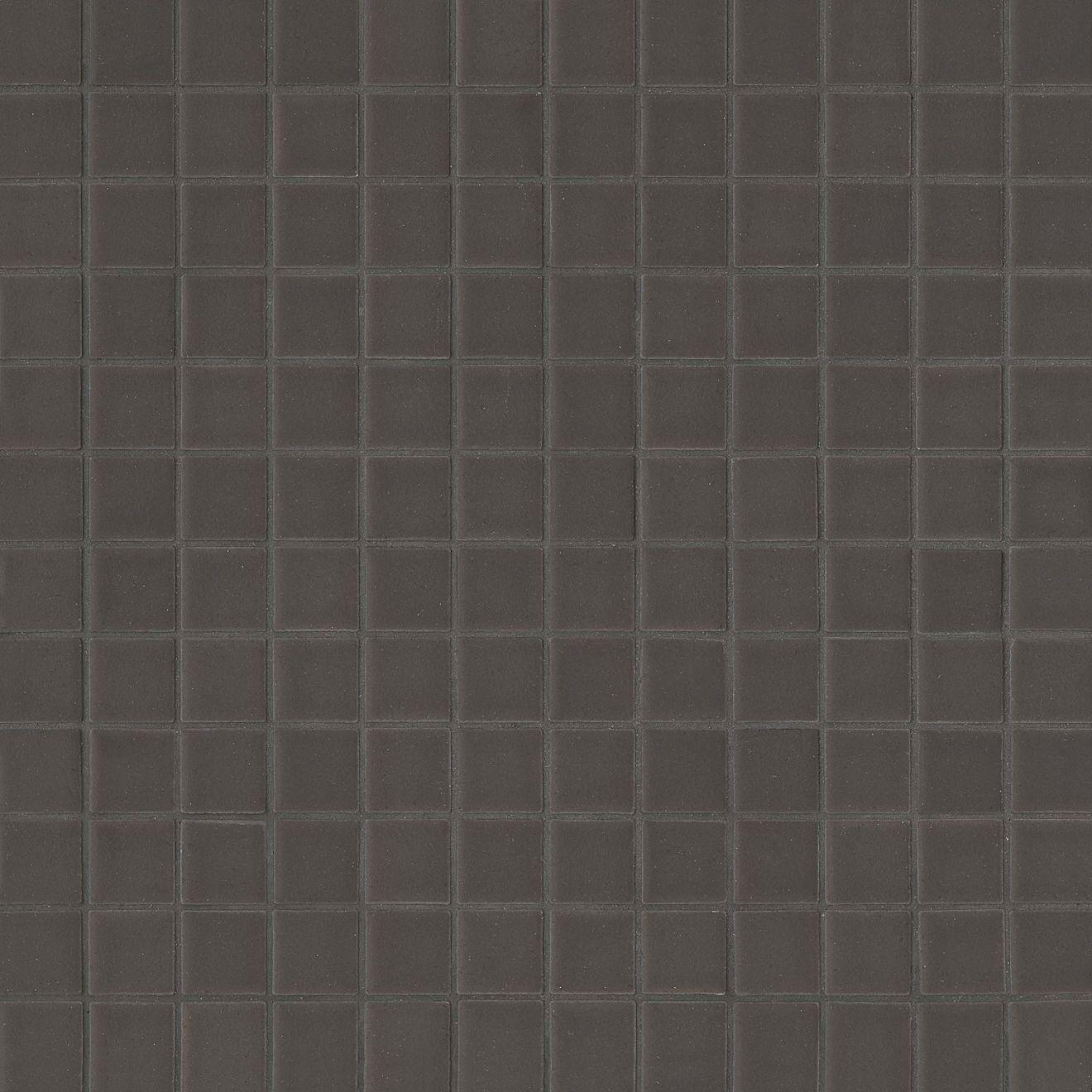 "True 1"" x 1"" Floor & Wall Mosaic in Metallic"