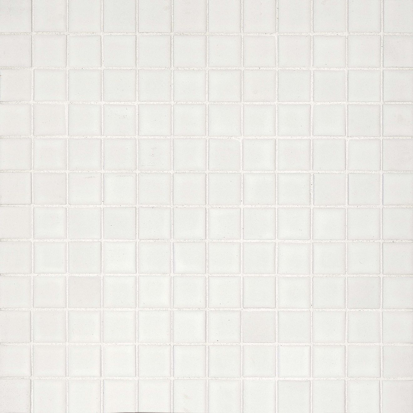 "True 1"" x 1"" Floor & Wall Mosaic in White"
