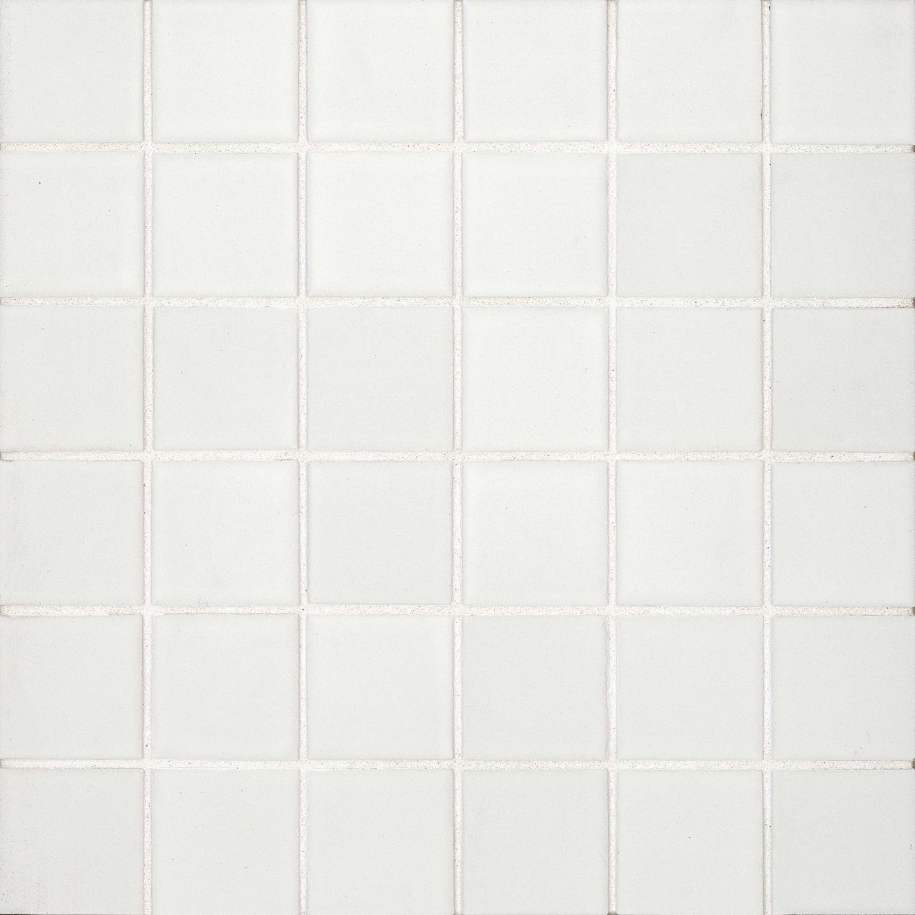 "True 2"" x 2"" Floor & Wall Mosaic in White"